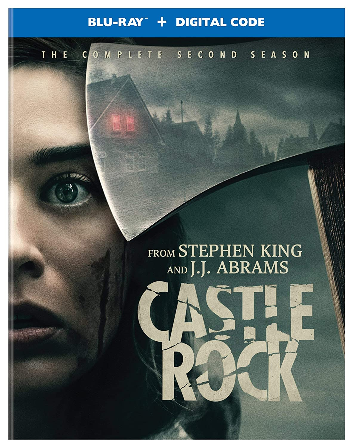 Castle Rock The Complete Second Season Blu Ray Digital Scott Glenn Stephen King Andre Holland Lizzy Caplan Paul Sparks Melanie Lynskey Yusra Warsama Bill Skarsgård Jane Levy Barkhad Abdi Sissy Spacek