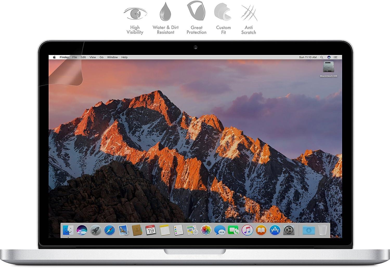 Mygadget Display Schutz Folie Matt Für Apple Macbook Pro 13 Mit Cd Laufwerk Entspiegelt Den Bildschirm Schutzfolie Displayschutz Anti Fingerabdruck Elektronik