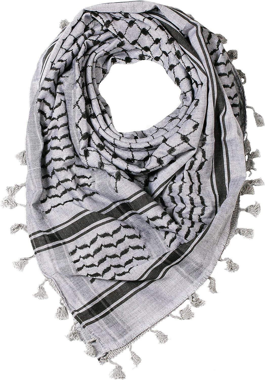 "Hirbawi palestinian Scarf Shemagh Multi Color Keffiyeh Hatta Kufiya 47/""x47/"" New"