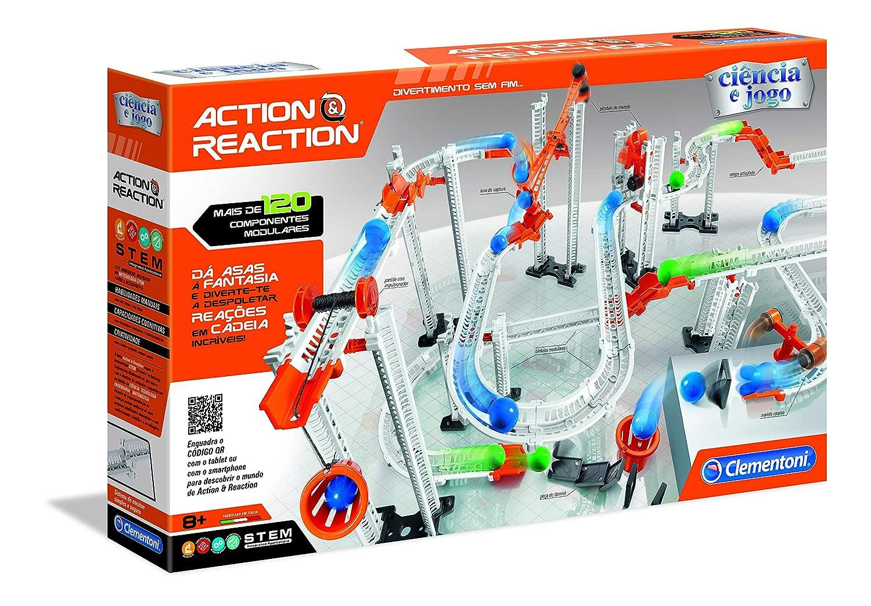 Multi-Colour Clementoni- Action /& Reaction Master Kit 67628 Building Game Portuguese Version