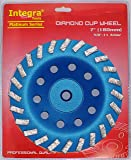 """7"""" Concrete Turbo Diamond Grinding Cup Wheel for"""