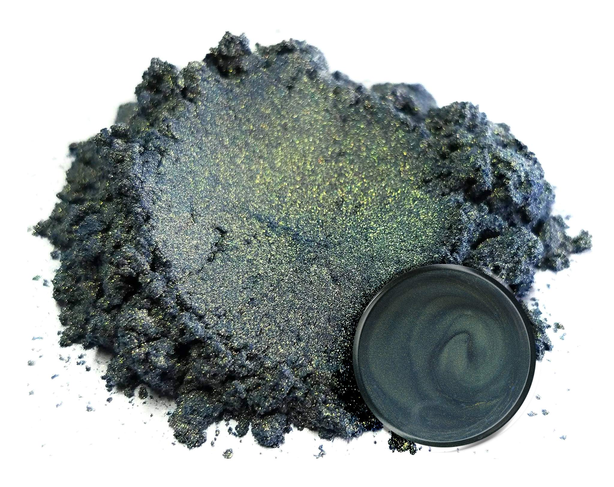 Eye Candy Mica Powder Pigment ''Beetle Blue'' (50g) Multipurpose DIY Arts and Crafts Additive | Natural Bath Bombs, Resin, Paint, Epoxy, Soap, Nail Polish, Lip Balm by Eye Candy
