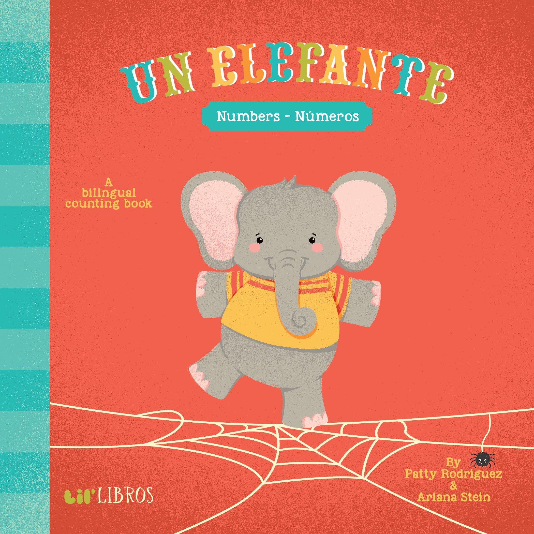 amazon com un elefante numbers numeros english and spanish
