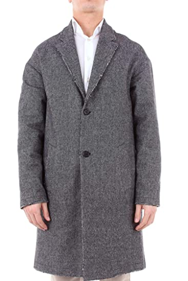 manteau homme gris outlet