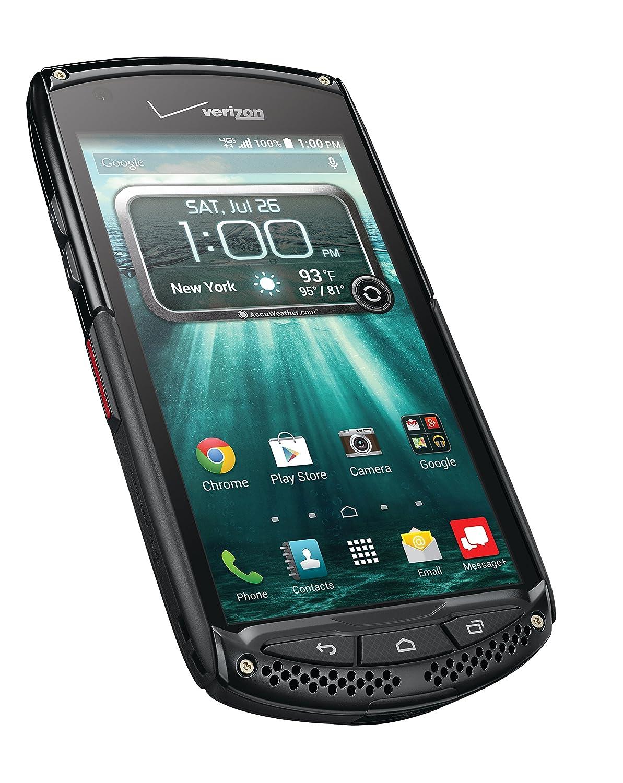 Amazon.com: Kyocera Brigadier, Black 16GB (Verizon Wireless): Cell Phones &  Accessories