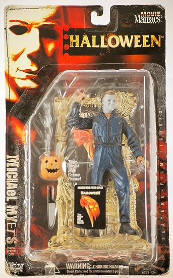 Amazon.com: Movie Maniacs Series 2: Halloween Michael Myers: Toys ...