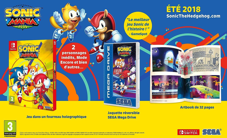 Sonic Mania Plus - Nintendo Switch [Importación francesa]: Amazon.es: Videojuegos