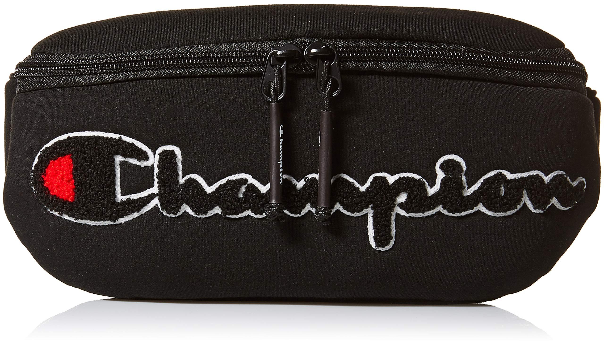 Champion Men's Prime Waist Bag, black One Size