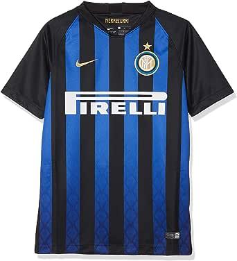 NIKE 2018/19 Inter Mailan Stadium Home - Bañador para niño, Unisex, Color Azul Marino y Blanco (Talla del Fabricante: XS): Amazon.es: Ropa y accesorios
