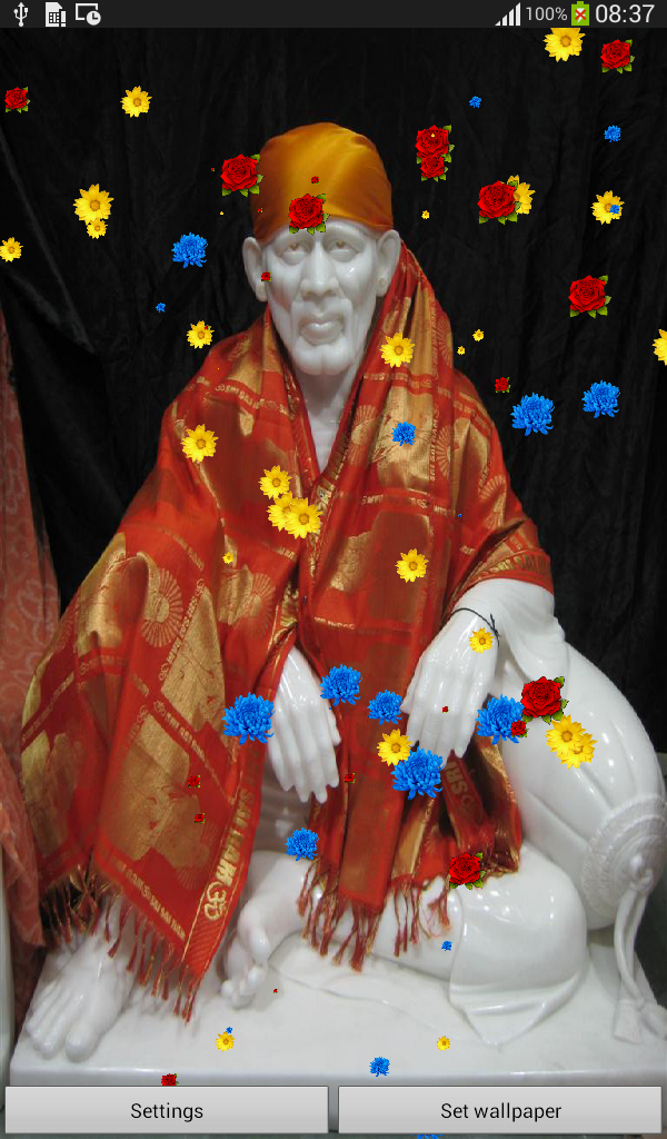 Amazon Com Shirdi Saibaba Hd Live Wallpaper Appstore For Android