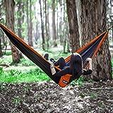 Lightweight Double Camping Hammock - Adjustable