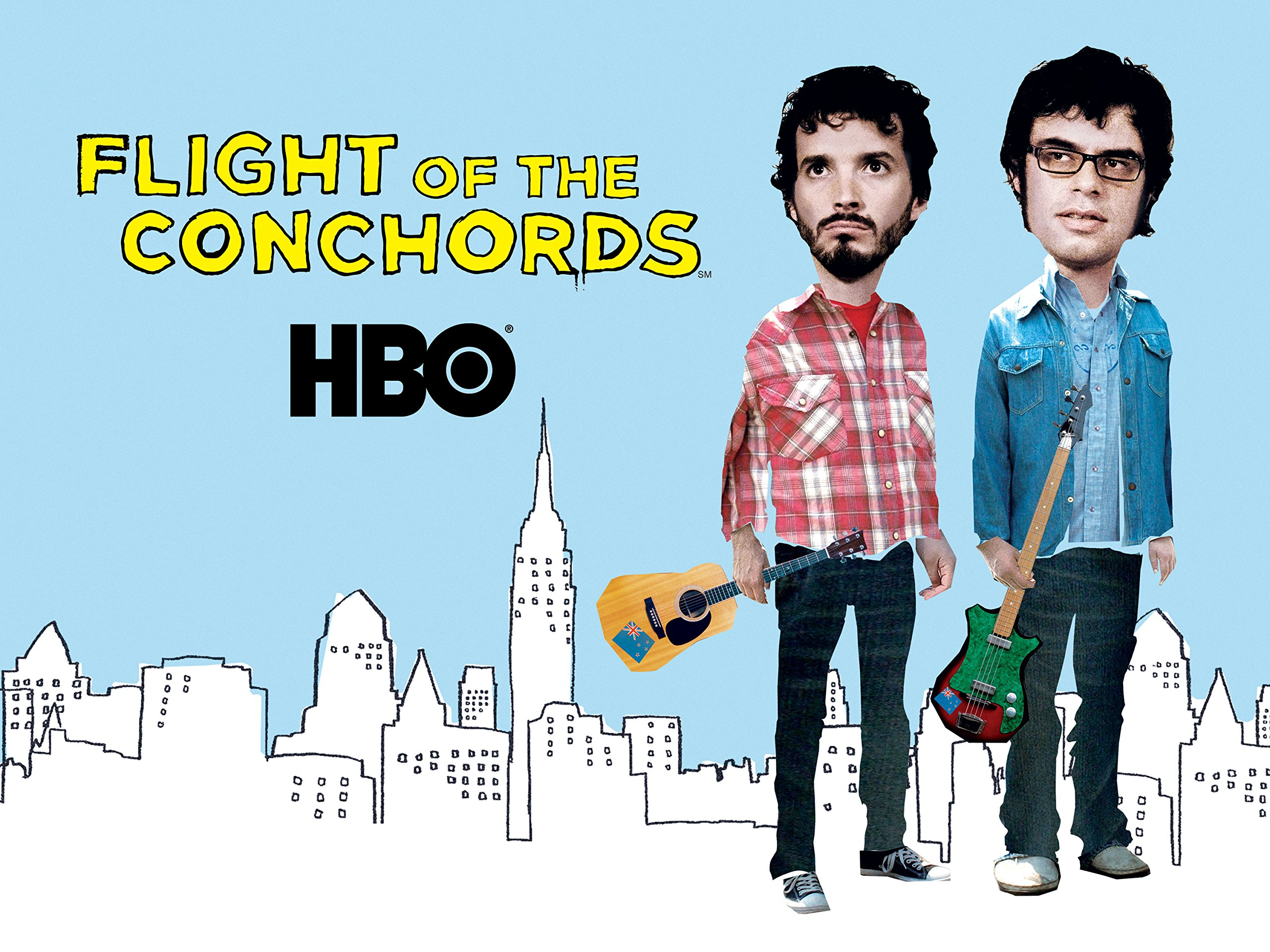 Image result for flight of the conchords