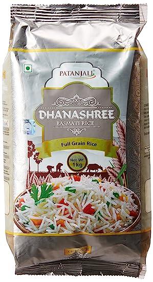 Patanjali Dhanshree Basmati Rice, 1kg