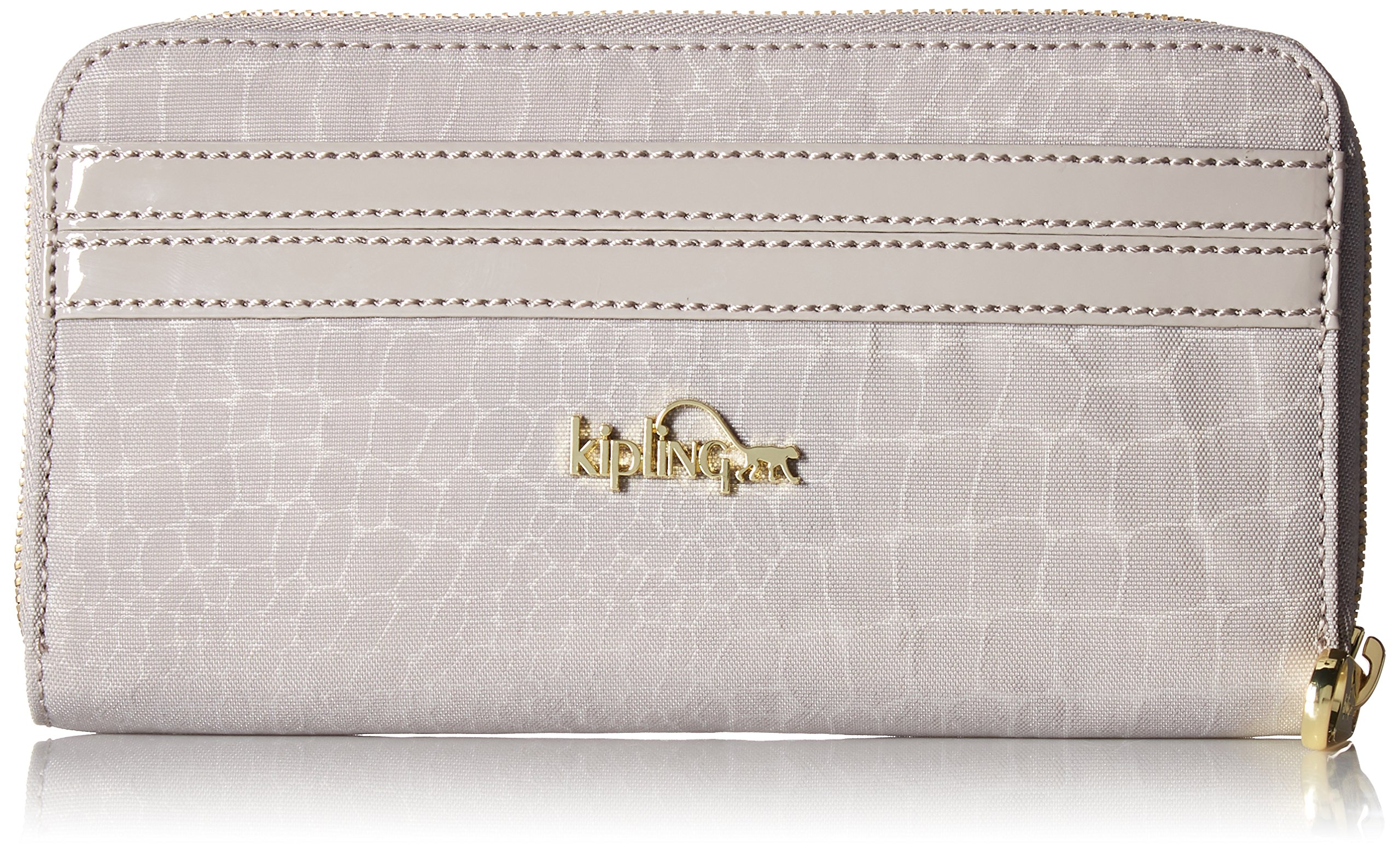 Vanessa Zip Around Wallet Wallet, SLATE GREY CROCODILE, One Size