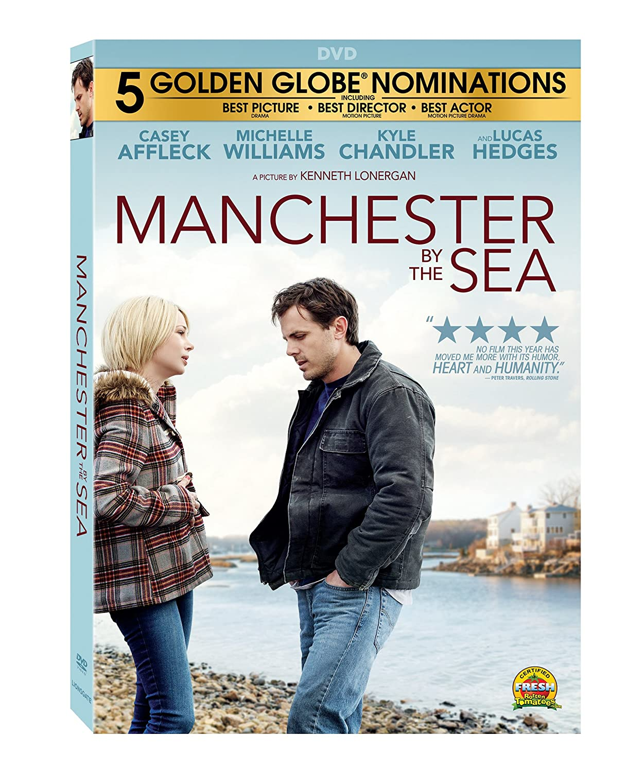 Amazon Manchester By The Sea Casey Affleck Michelle Williams Kyle Chandler Lucas Hedges Kenneth Lonergan Movies TV
