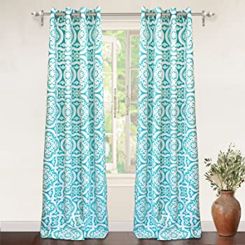 Amazon Com Intelligent Design Blackout Curtains For