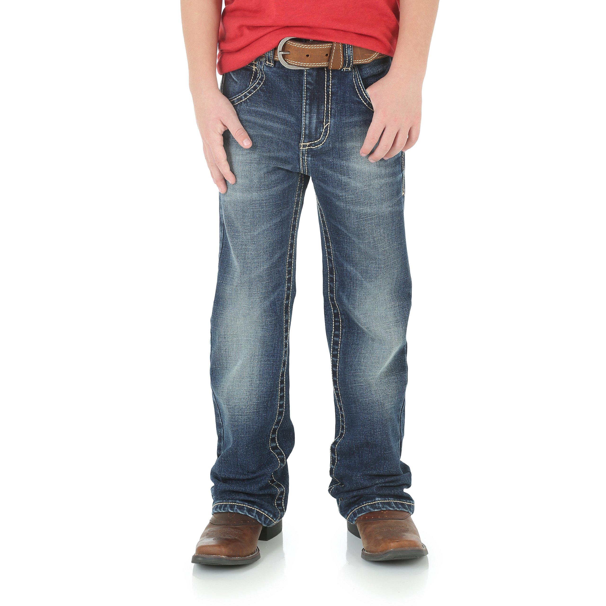 Wrangler Boys' 20X Vintage Boot Cut Jean, Midland, 7 Reg by Wrangler