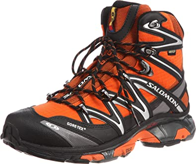 Salomon Mens Wings Sky GTX Fast Light Backpacking Boot,Xgames/Black/Autobahn,