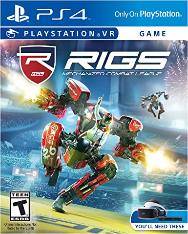 Sony RIGS Mechanized Combat League VR Básico PlayStation 4 vídeo ...