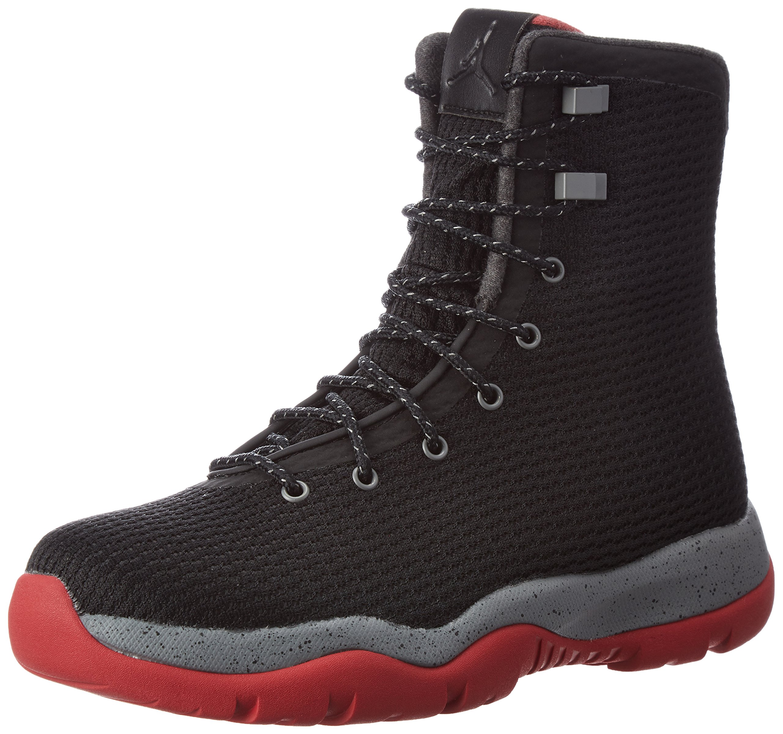 Nike Mens Jordan Future Boot Black/Red-Grey Fabric Size 10 by Jordan