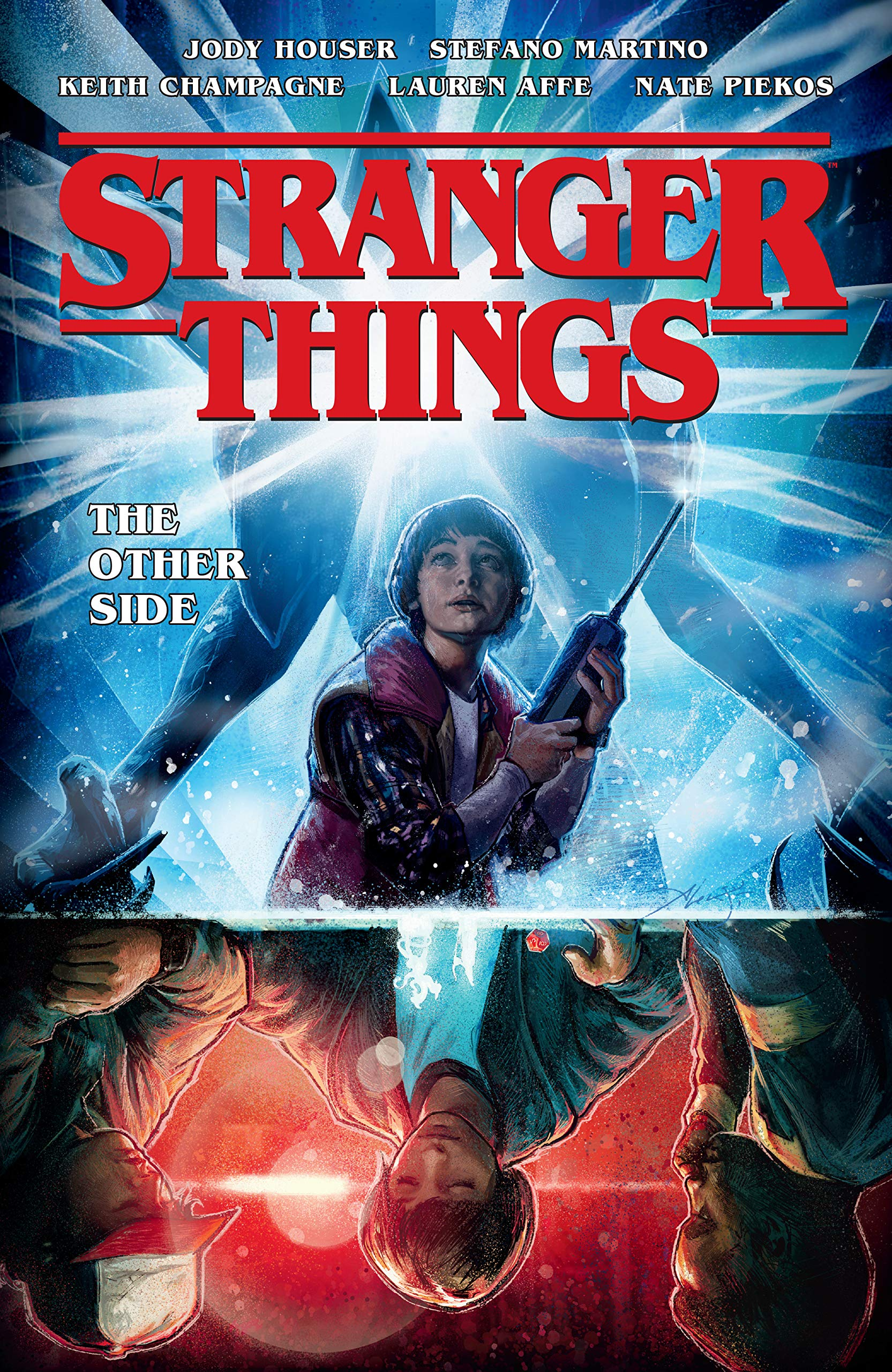 Billedresultat for stranger things graphic novel