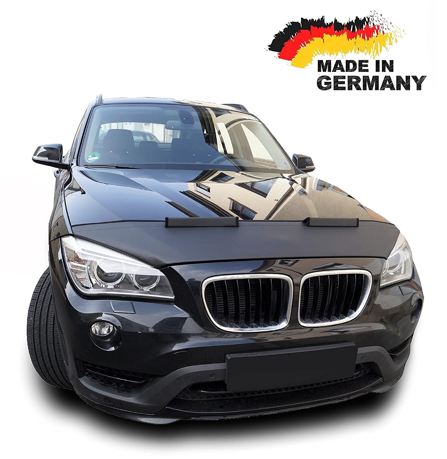 Hood Bra for BMW X1 E84 Bonnet Car Bra Front End Cover Nose Mask Stoneguard Protector TUNING Autosattlerei Roganov