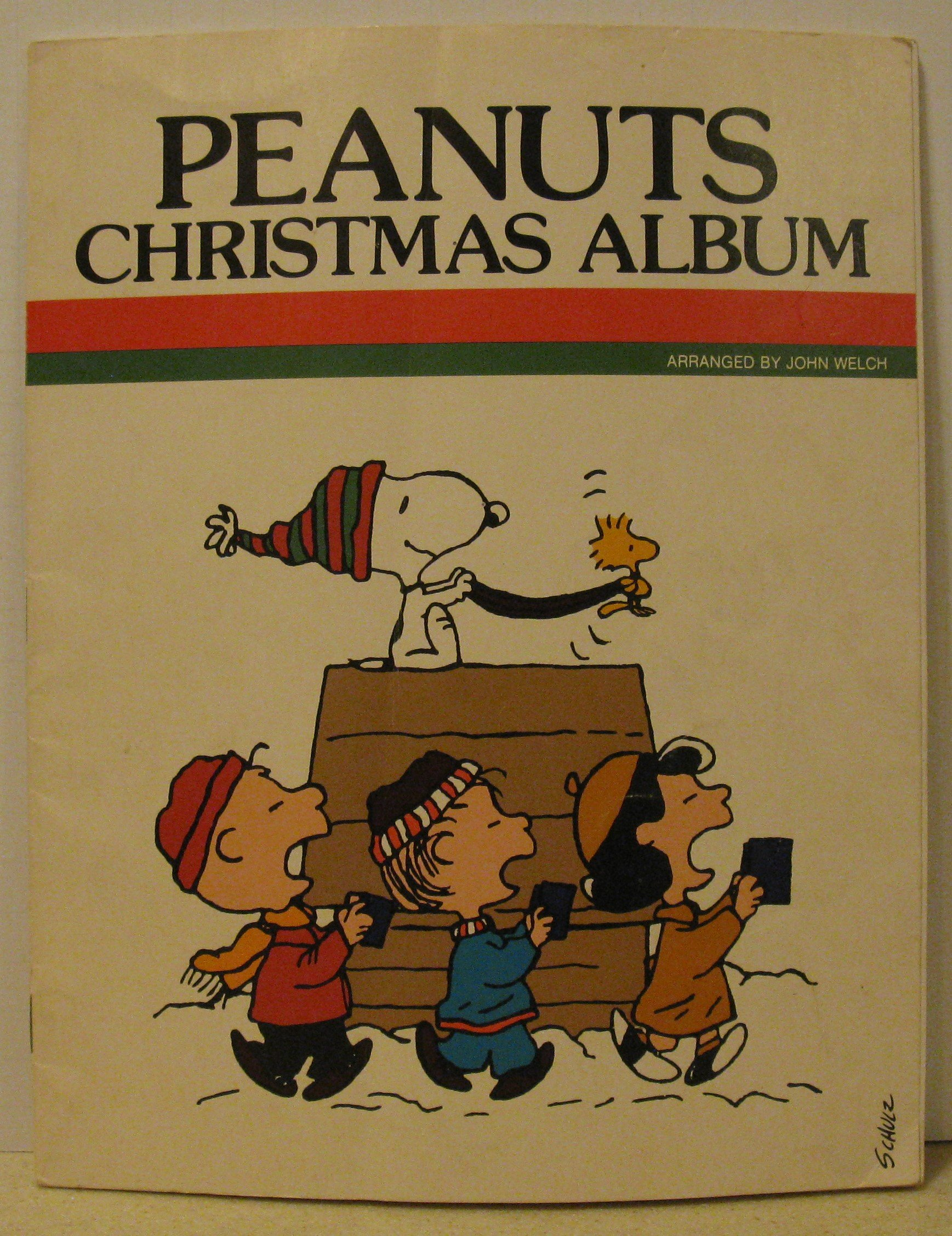 PEANUTS CHRISTMAS ALBUM: Amazon.co.uk: ARRANGED BY JOHN WELCH: Books