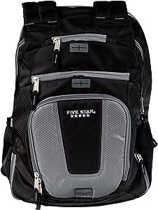 Five Star Backpack, Ultimate Tech, Back Pack, Dark Gray (73284)