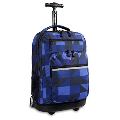 J World New York Sundance LAPTOP Rolling Backpack Review