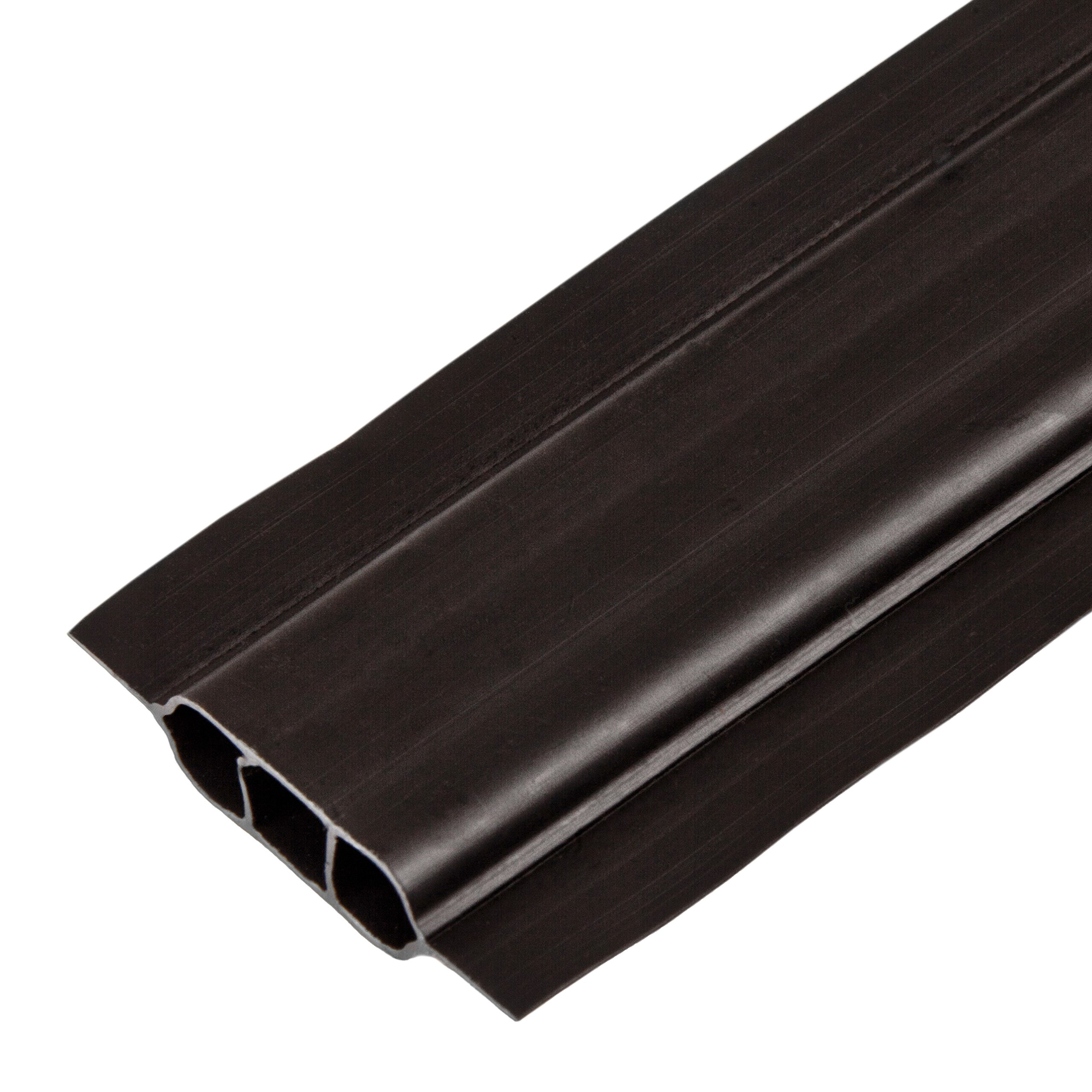 Maximum Privacy SoliTube Slats for Chain Link Fencing (6-ft, Black)