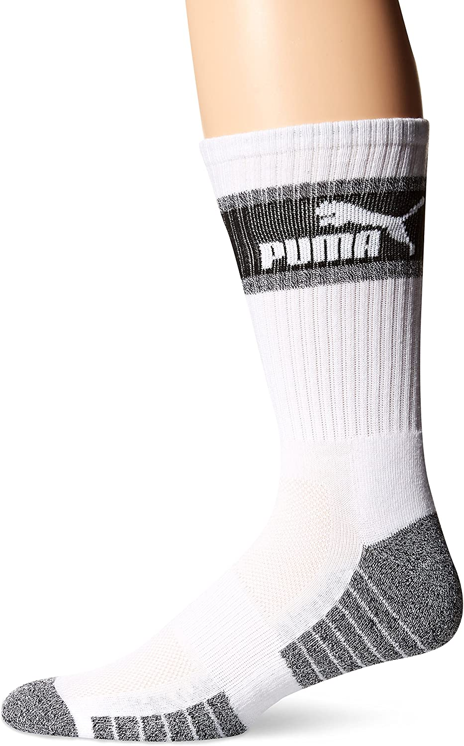 Puma 3 Pack Mens Crew Socks