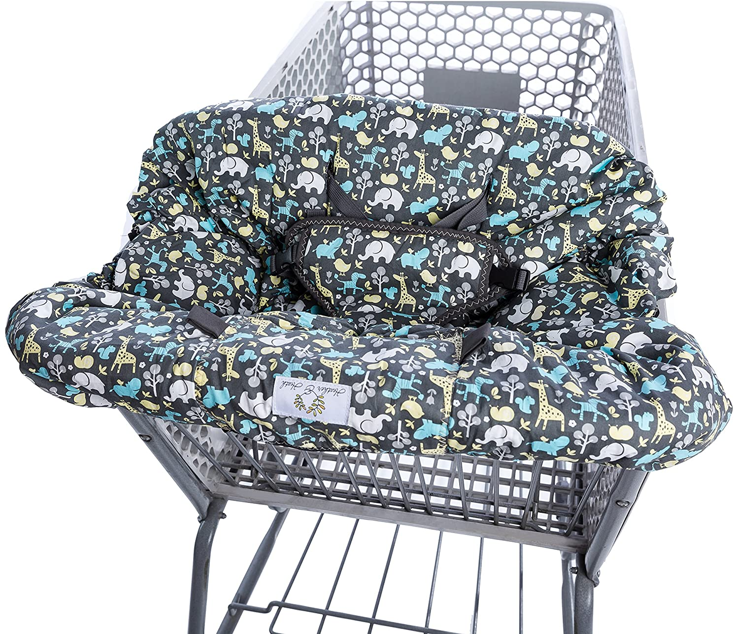 Amazon 2 in 1 Shopping Cart Cover and High Chair Cover
