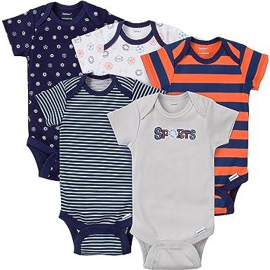 175da369c Amazon.com  Gerber Baby-Boys Variety Onesies Brand Bodysuits