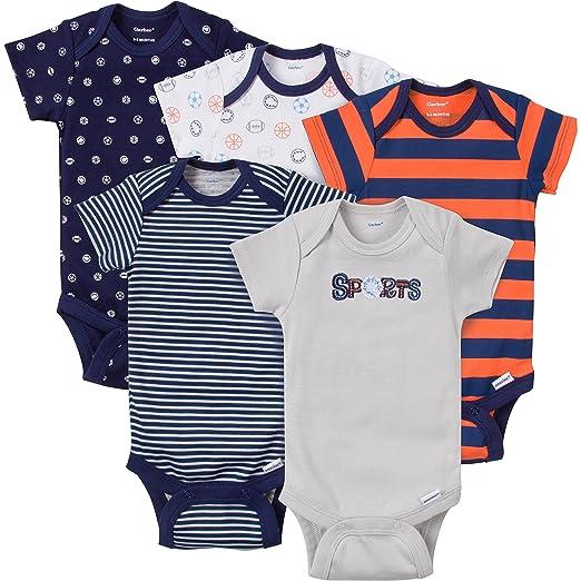 8e5793ec8c9 Amazon.com  Gerber Baby-Boys Variety Onesies Brand Bodysuits