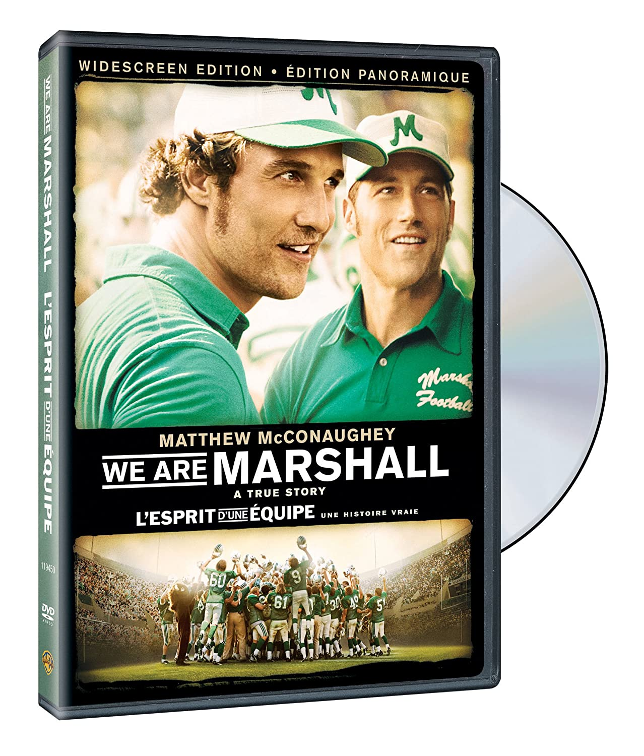 We are Marshall best football movies