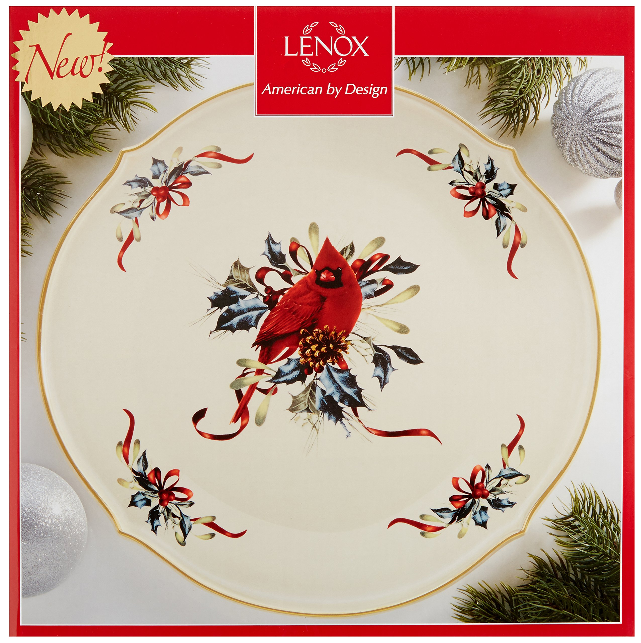 Lenox Winter Greetings Round Platter by Lenox (Image #2)