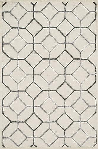 Loloi PANACHE Area Rug, 2 3 x 7 6 , Ivory Grey