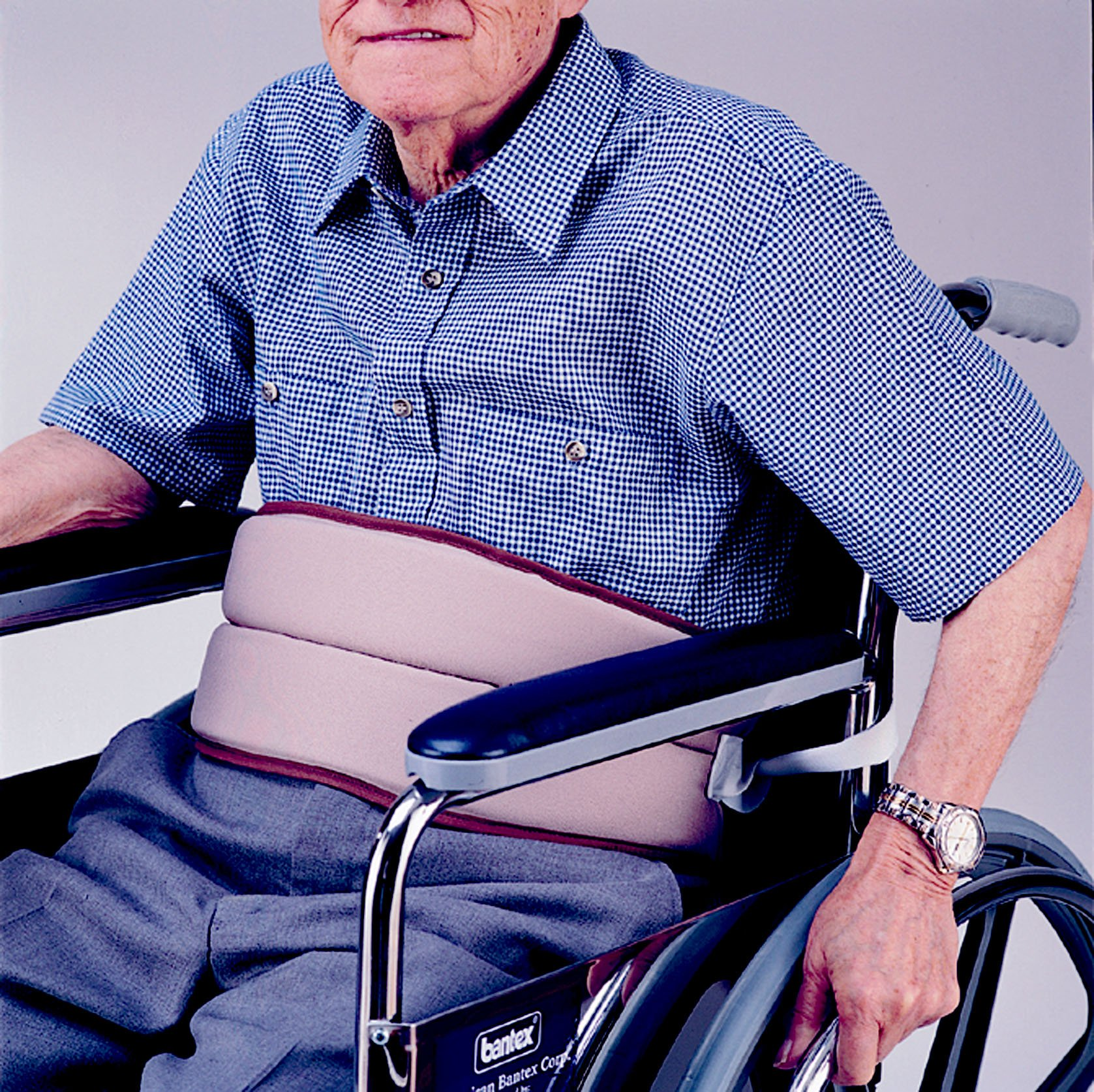 WHEELCHAIR & BED PADDED CUSHION BELT FALL PREVENTION RESTRAINT