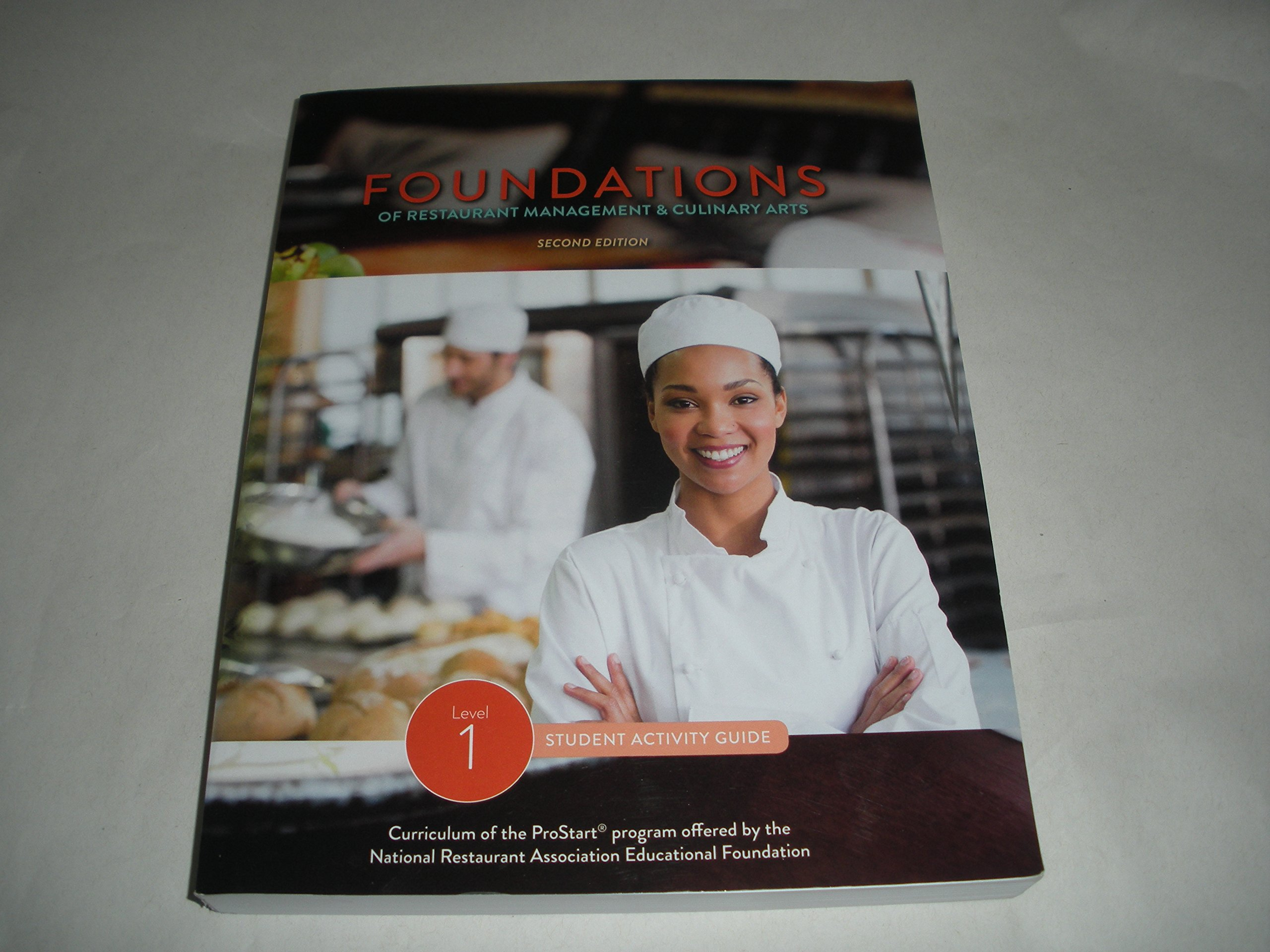 foundations of restaurant management culinary arts level 1 student