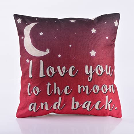 Amazon.com: decorlution Carta I Love You To The Moon And ...