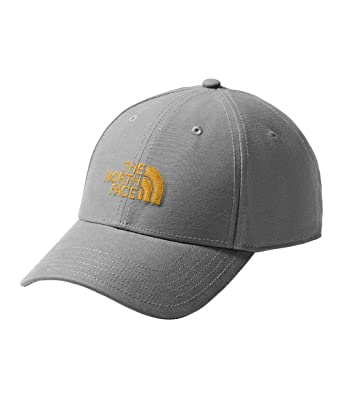 858b8289d4b05 The North Face Unisex 66 Classic Hat Asphalt Grey Citrine Yellow One Size