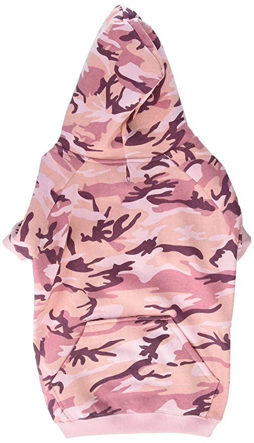 67dc11ca3a7 Amazon.com   Casual Canine Camo Hoodie for Dogs