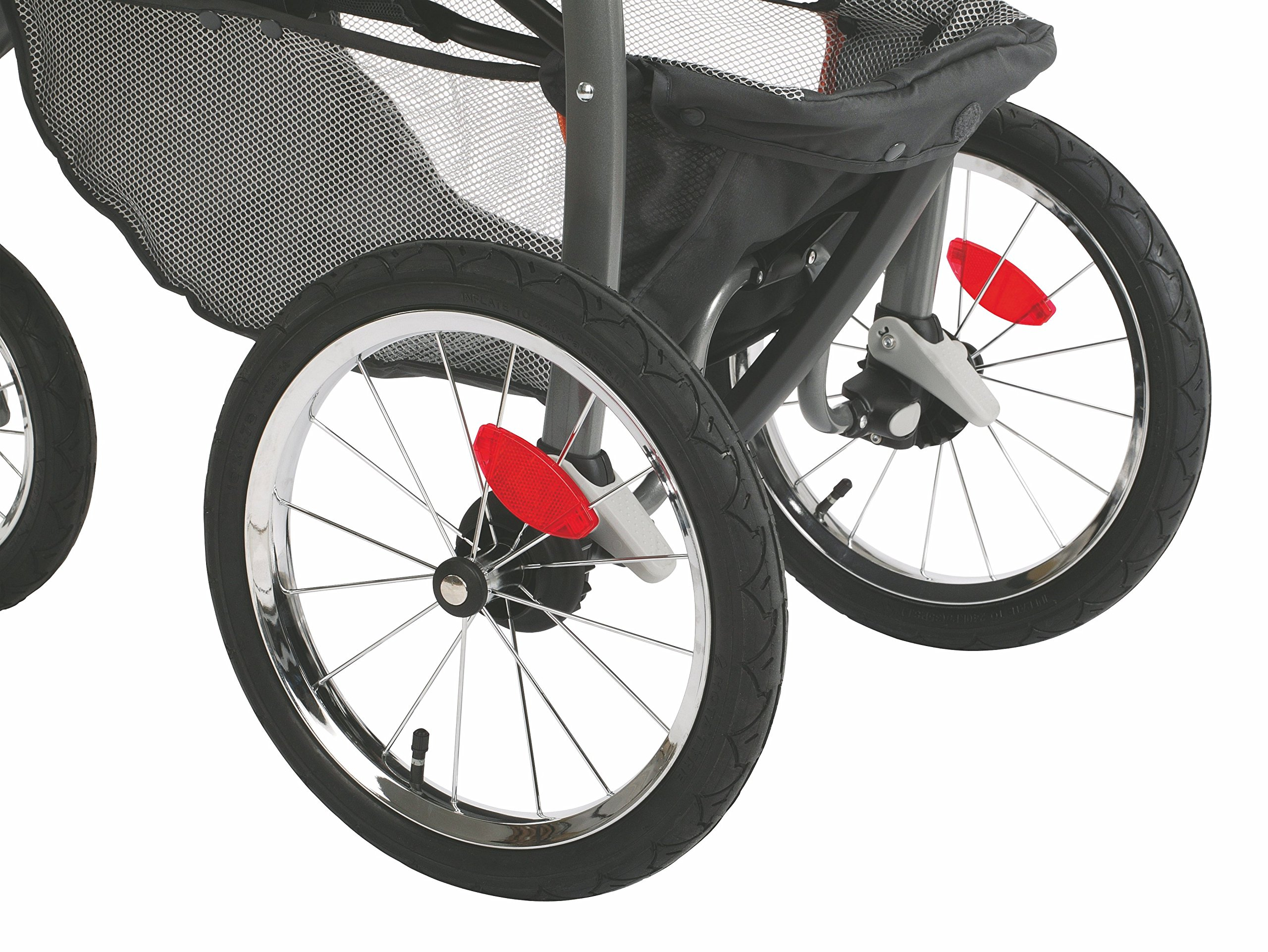Graco Fastaction Fold Jogger Click Connect Stroller, Gotham by Graco (Image #4)