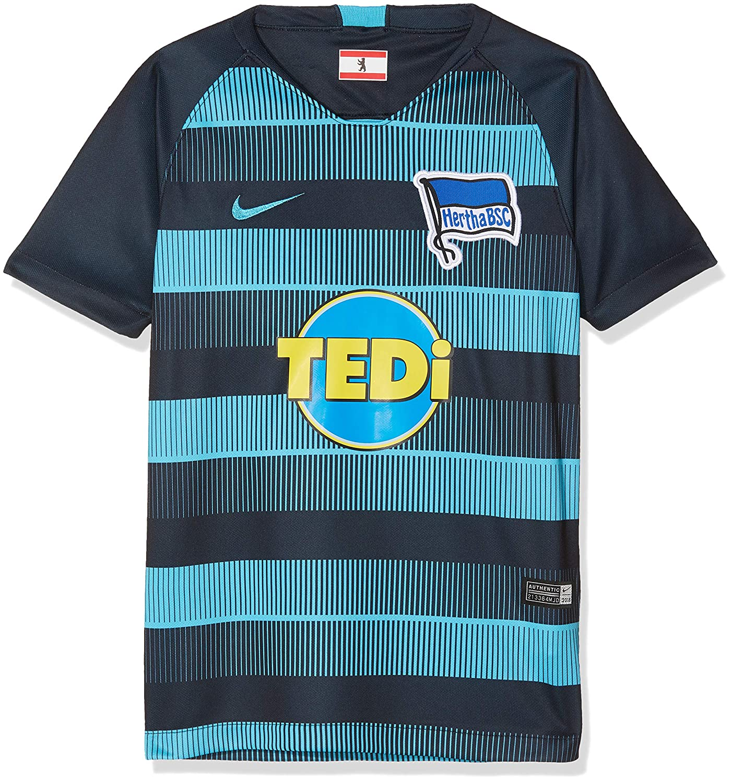 Nike Kinder Hertha BSC Breathe Stadium Away T-Shirt
