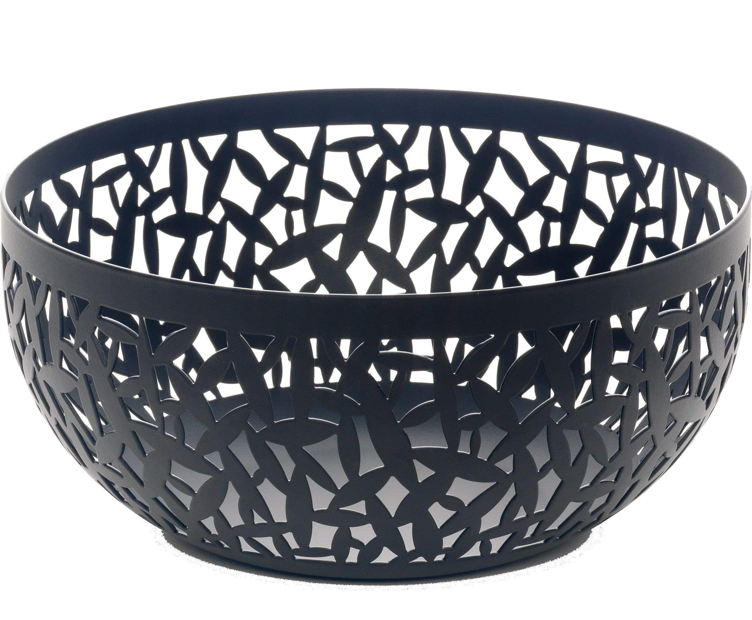 Alessi MSA04/21 B''CACTUS!'' Fruit Holder in Steel Coloured With Epoxy Resin, Black by Alessi (Image #2)
