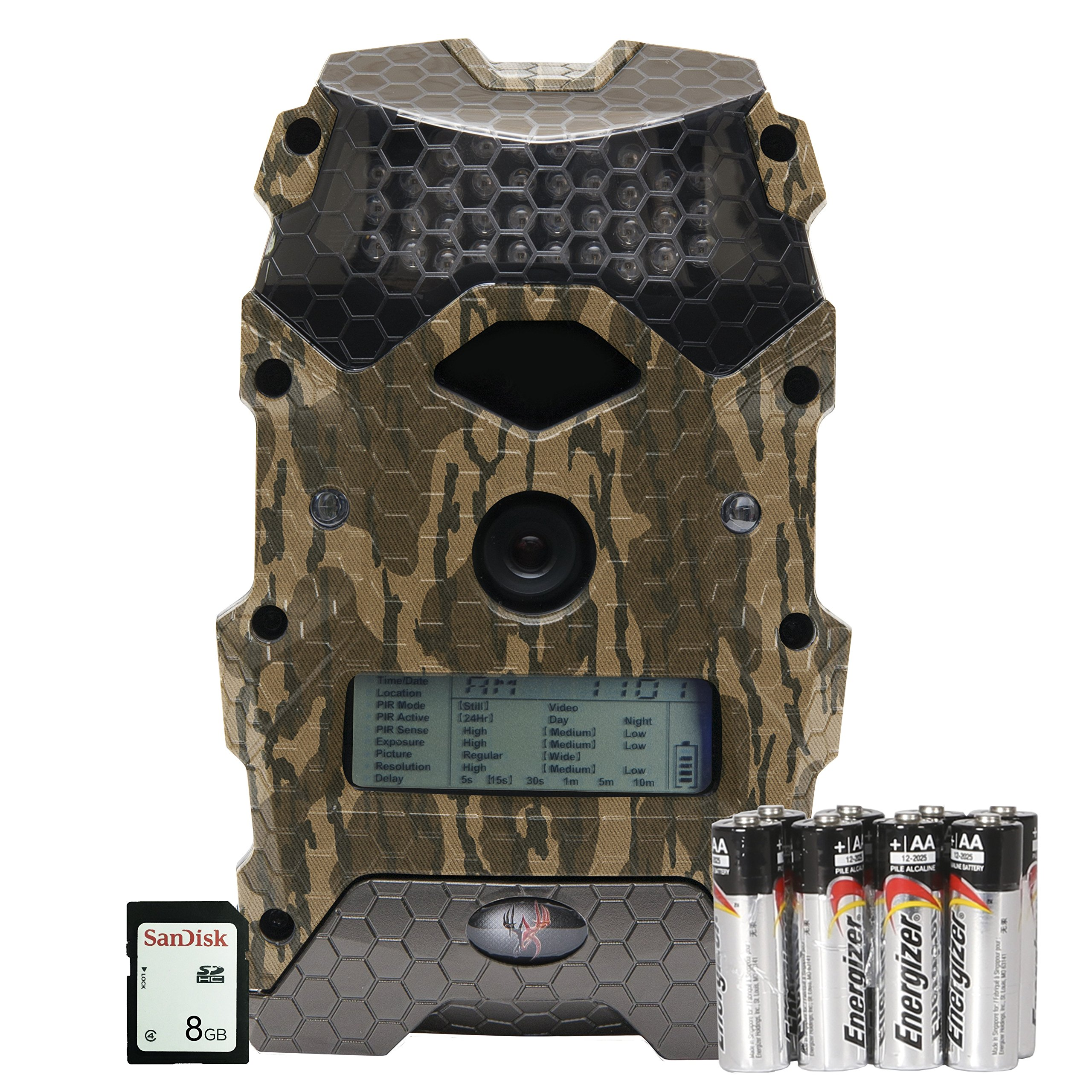 Wildgame Innovations Mirage 16'' with Batteries & SD Card, Mossy Oak Bottomland