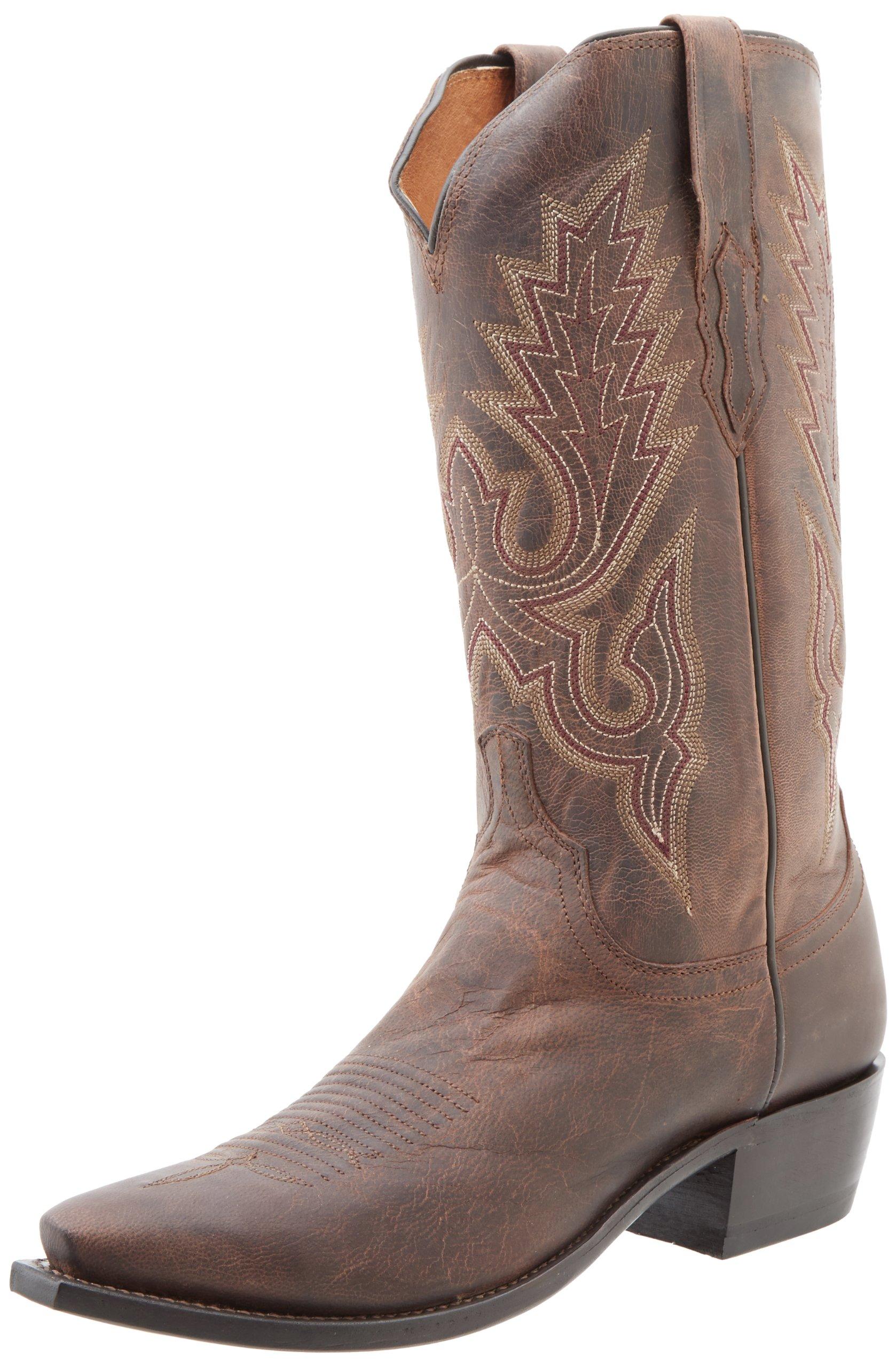 Lucchese Classics Men's M1002 Boot,Chocolate Madras Goat,13 D (M) US
