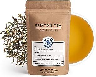 Brixton Tea ® Margaret's Hope, Single Estate, Spring Black, Golden Darjeeling, Fresh Loose Leaf Tea, 40g
