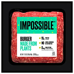 Impossible Foods Impossible Burger Plant-Based Ground Beef, 12 oz