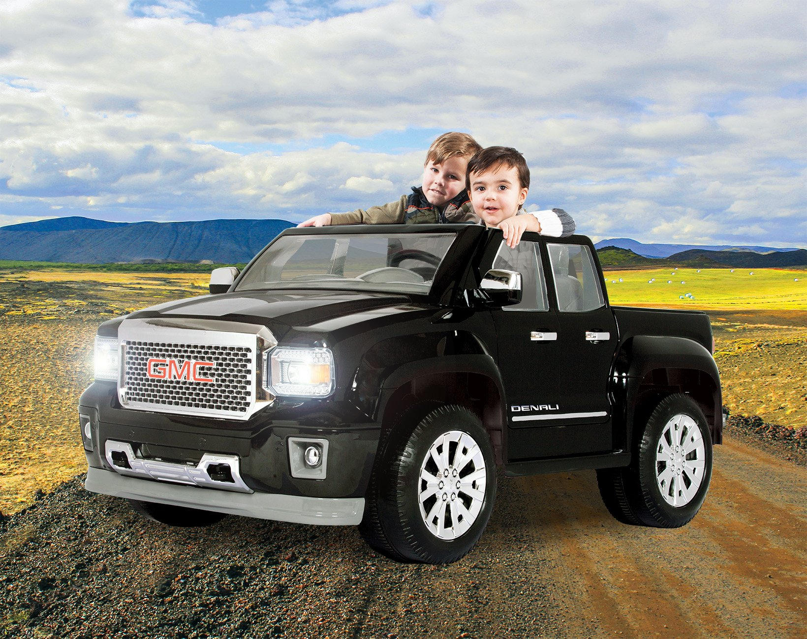 Rollplay GMC Sierra Denali 12-Volt Battery-Powered Ride-On, Black by Rollplay (Image #10)